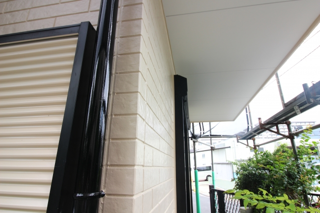 外壁塗装での付帯部